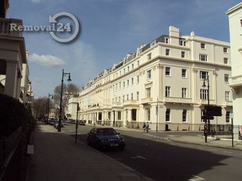 Time saving removals in Belgravia