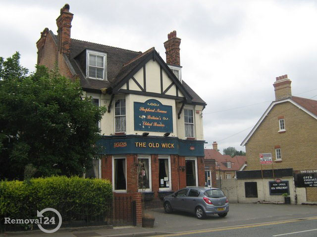 The Old Wick Public House in Bexley Old
