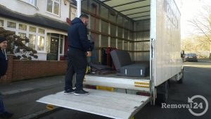 Movers with a luton van